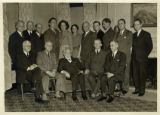 Administrators and Faculty in Caroline Hall, c.a. 1940's