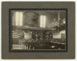 Interior of Swedish Mission Tabernacle, 1902