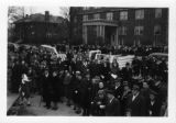 Cornerstone laying of Nyvall Hall, 1947