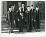T.W. Anderson with Others in Regalia, c.a. 1950's