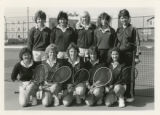 Women's Tennis Team, 1983