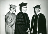 Picture of North Park Graduation, Karl Olsson (Center)