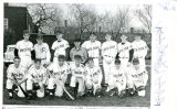 Portrait of North Park College Baseball Team