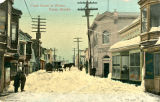 Front Street in Winter, Nome, Ak