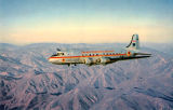 Aerial View of Pacific Northern Airlines Plane