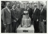Group Photo at Dedication of Lina Sandell Statue