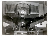 Interior of Swedish Mission Tabernacle, Chicago