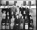 Group Portrait of North Park Academy Junior Class 1929