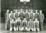 Portrait of North Park College Basketball Team