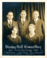 Group Portrait of Dining Hall Committee
