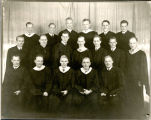 Portrait of North Park Seminary Graduates-1945