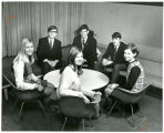 Photo of the Officers of the Freshman Class 1968-1969