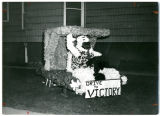 Homecomingfloat/Frosh Class Entry--'Drive to Victory'