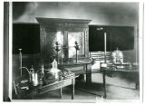 Early Physics Lab and Cabinet