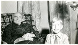 Last Known Photo of Skogsbergh, Grandson Also in Photo