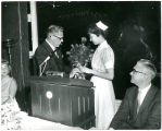 Bouquet Presented to Nursing Student (1966?)