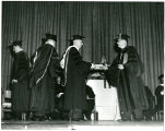 Clarence Nelson Receiving Honorary Degree