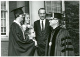 Karl Olsson, Graduate, and Guests at Commencement