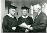 Administration, Faculty at 1968 Commencement