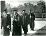 Administration Members at 1968 Commencement