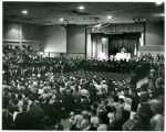 Crowd Photo at 1968 Commencement Ceremony