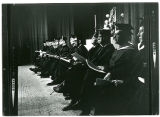 Administration and Faculty at Commencement (1969?)