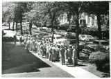 Graduates on Spaulding Avenue (1950?)
