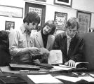 Students in Covenant Archives (1974?)