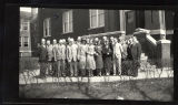 Palmquist NWC Staff, Johnson, Nelson, Photo with two negatives included