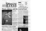 Volume 83, Issue 13: January 31, 2003 North Park Press