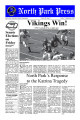 Volume 86, Issue 1: September 16, 2005 North Park Press