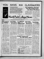 Volume 19, Issue 1: October 4, 1939 North Park Press