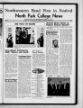 Volume 34, Issue 11: March 9, 1955 North Park Press
