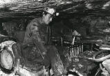 Miner at work