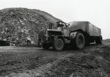 Coal hauling vehicle