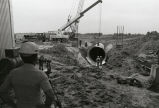 Installation of tunnel