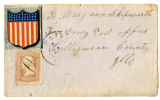 Envelope from Joseph Skipworth to Mary Ann (Myers) Skipworth, [1860s]