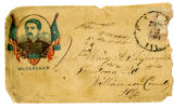 Envelopes from Joseph Skipworth to Mary Ann (Myers) Skipworth, 1864