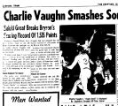 Charlie Vaughn Smashes