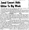 Jamal Concert Adds Glitter To Big Week