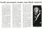 Youth movement creates new black majority