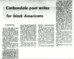 Carbondale poet writes for black Americans