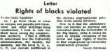 Rights of blacks violated
