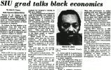 SIU grad talks black economics