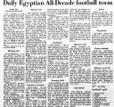 Daily Egyptian All-Decade football team