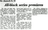 All-black series premieres