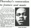 Thursday's convocation to feature soul music