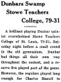 Dunbars Swamp Stowe Teachers College, 79-31