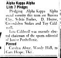 Alpha Kappa Alpha Lists 7 Pledges