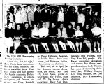 The 1955 SIU Homecoming Steering Committee: